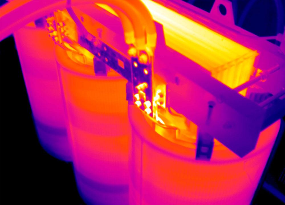 Termografia-Traformatore-in-resina-con-connessione-difettosa