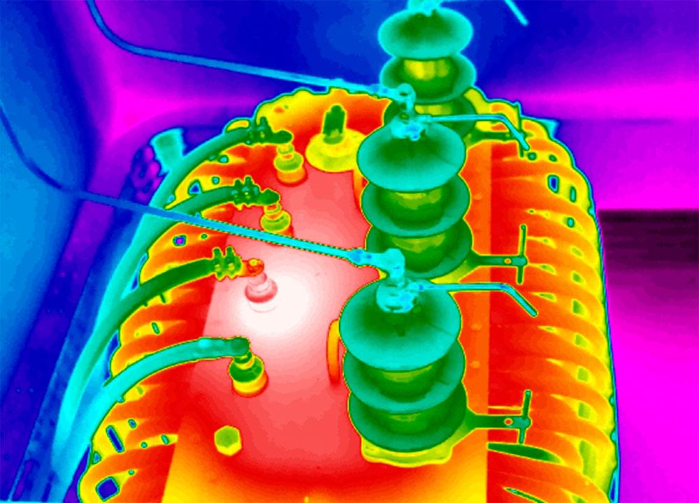 Termografia-trasformatore-a-olio-con-connessione-interna-difettosa