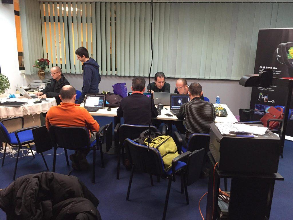 Corso Termografia ITC L2 Palermo Dicembre 2015