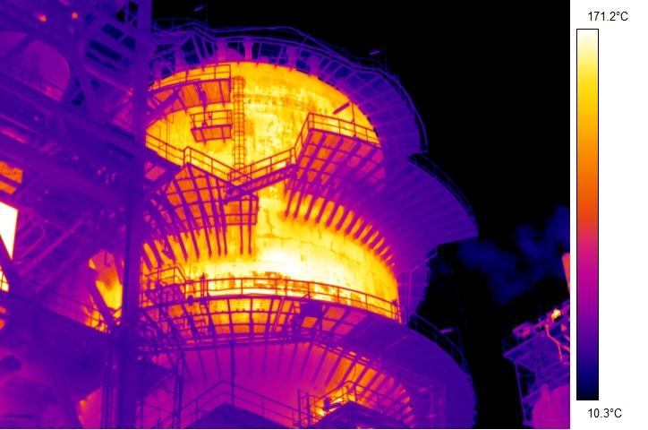 Termografia reattore